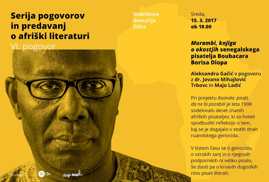 Boubacar Boris Diop: Murambi, knjiga o okostjih